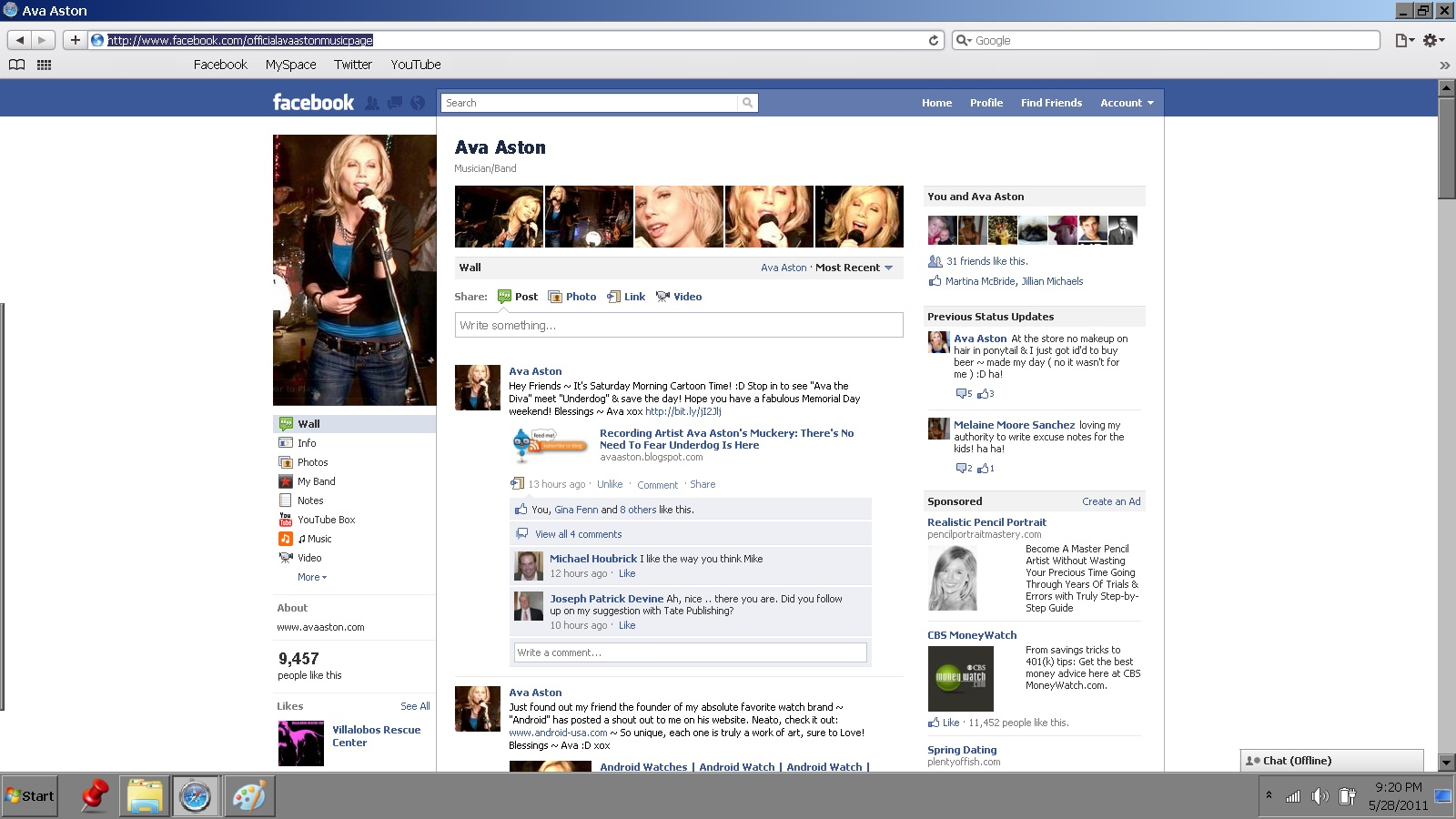 Who Has the Most Likes On Facebook | Recording Artist Ava Aston's Blog