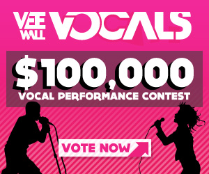 Yep - the Greek Girl is trying to win $100k to help boost her independent music career.