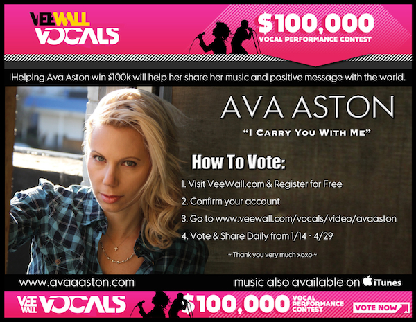 Click here to vote for my Song.