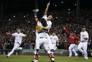 Woo-Hoo!  The Red Sox are the best team in baseball and are going to prove it one more time by winning the World Series!