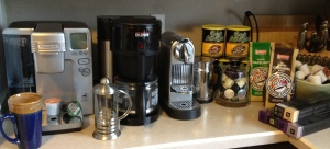 A little taste of my coffee brewing collection.
