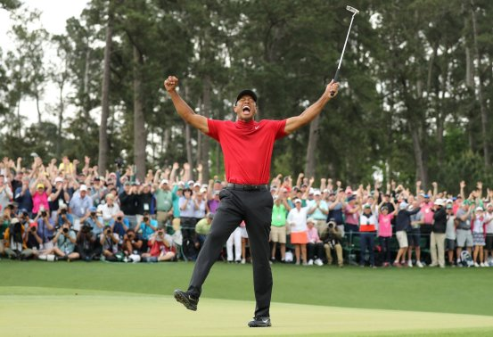 tiger woods wins masters 2019